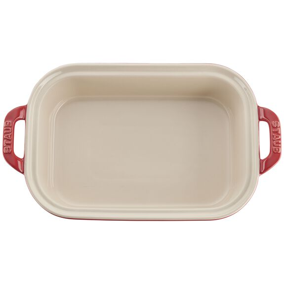 12-inch x 8-inch Rectangular Covered Baking Dish - Cherry,,large 2