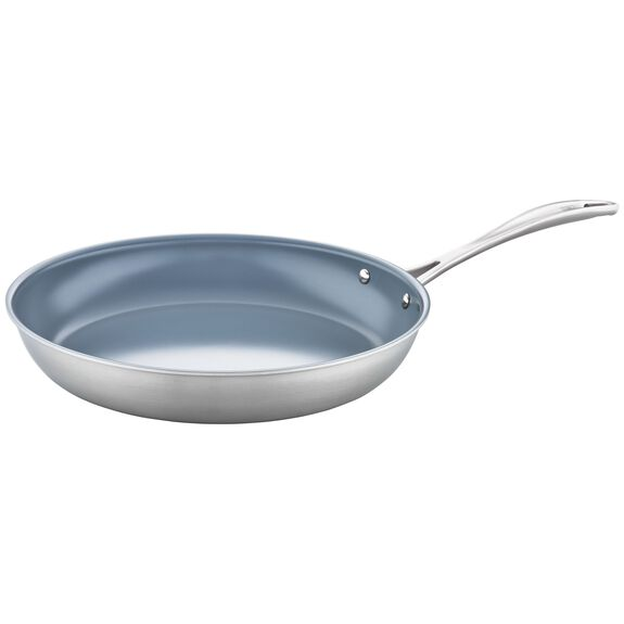 12-inch 18/10 Stainless Steel Frying pan,,large