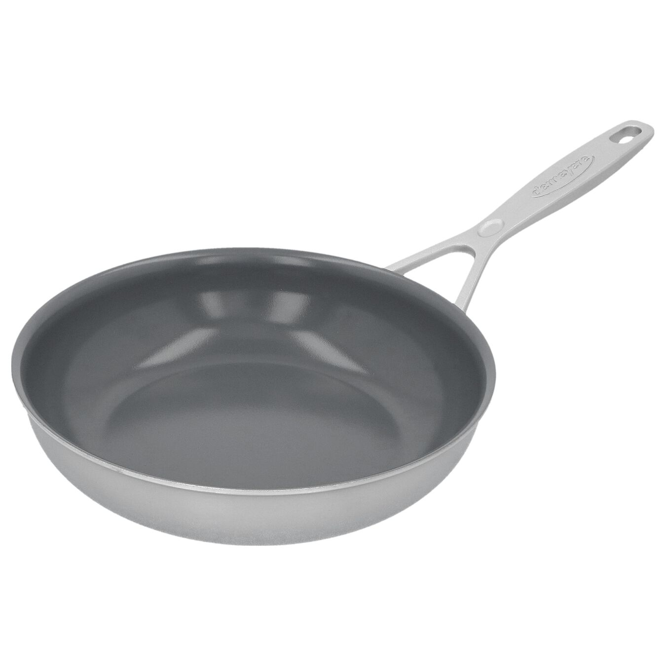 8-inch, 18/10 Stainless Steel, Non-stick, Ceramic, Frying pan,,large 2