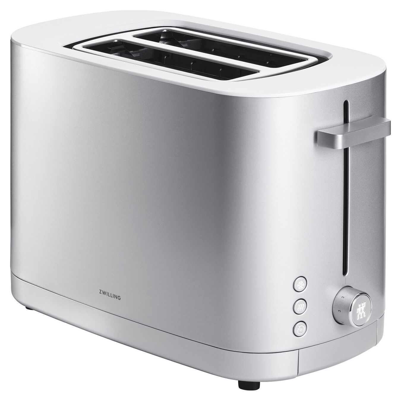 Toaster, 2 short  slots | Silver | US/CA,,large 1