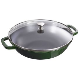 Staub Cast Iron, 4.5-qt Perfect Pan - Basil