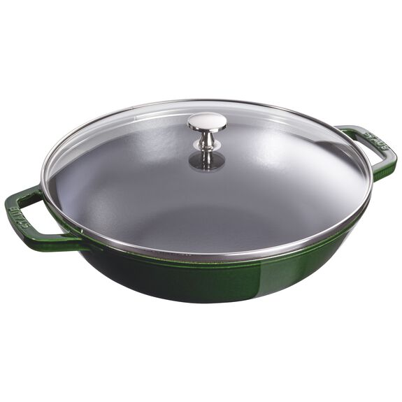 4.5-qt Perfect Pan - Visual Imperfections - Basil,,large 2