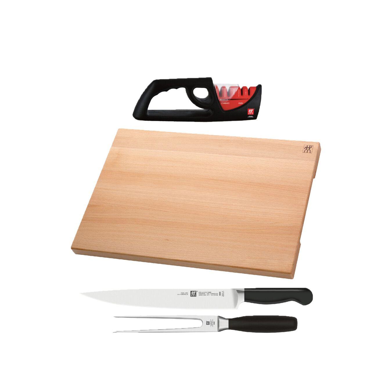 4-pcs Bloc à couteaux,,large 1