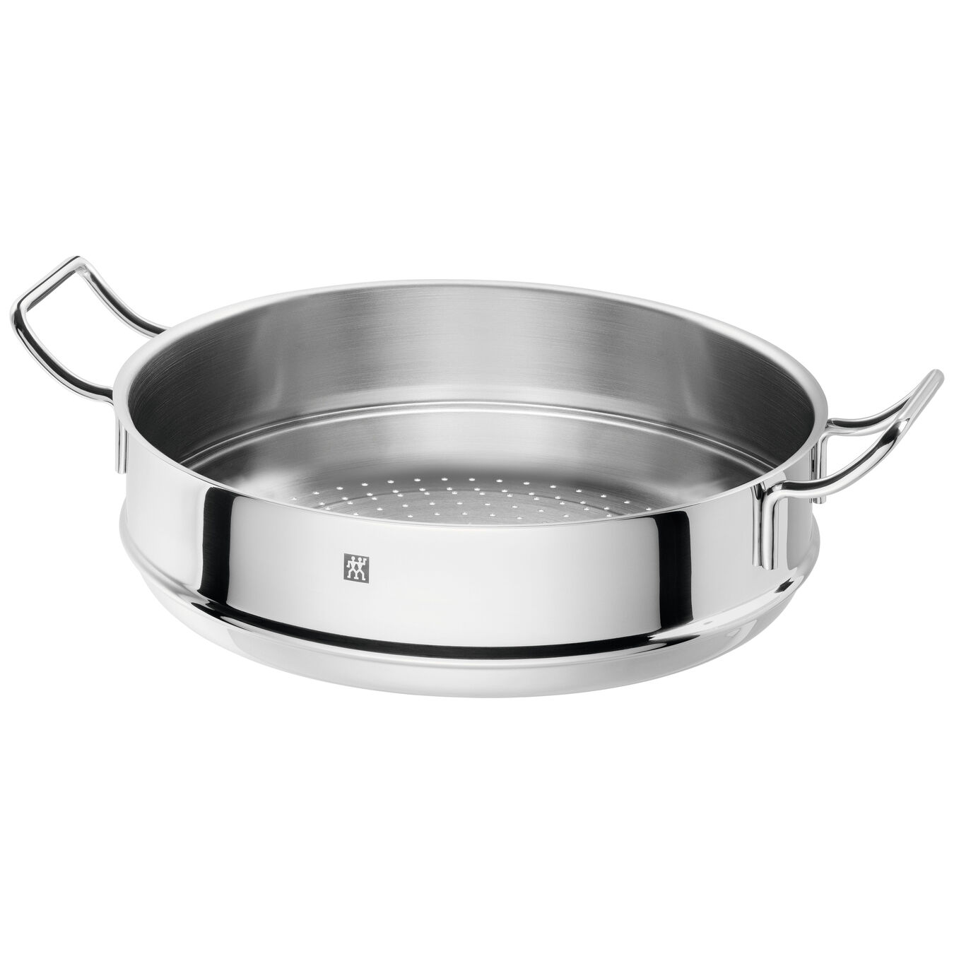 3 Piece 18/10 Stainless Steel wok with steamer and lid,,large 3