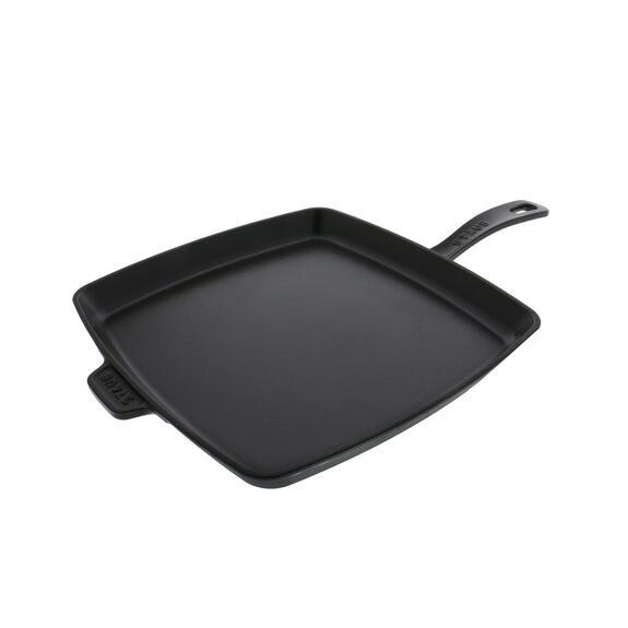 12-inch Square Breakfast Pan - Visual Imperfections - Black,,large