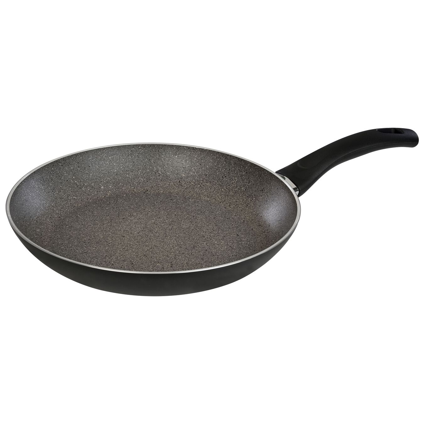 Poêle 28 cm, Aluminium, Noir,,large 2