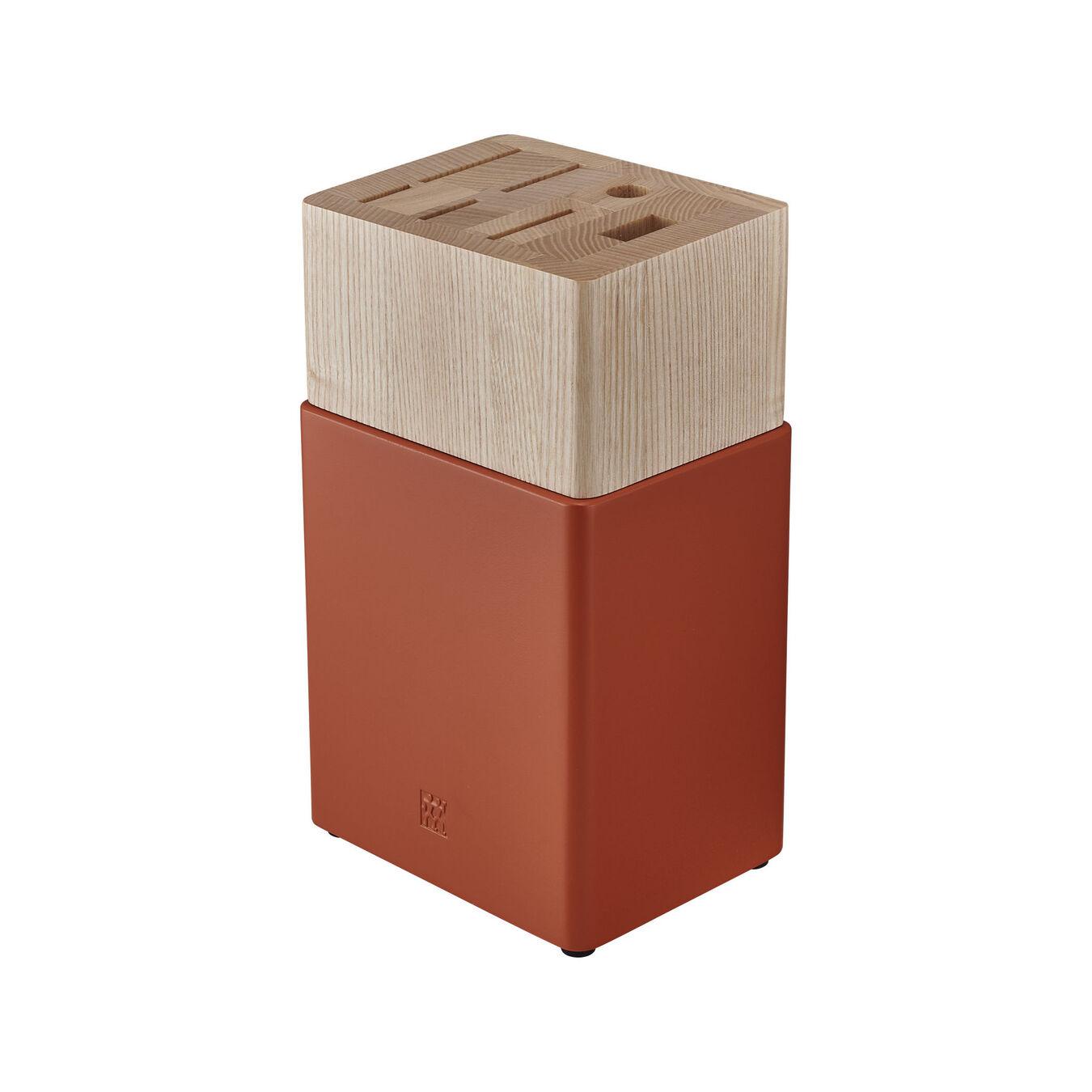 6-pc, Z Now S Knife Block Set, orange,,large 3