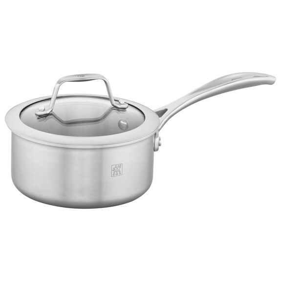 3-ply 1-qt Stainless Steel Saucepan,,large