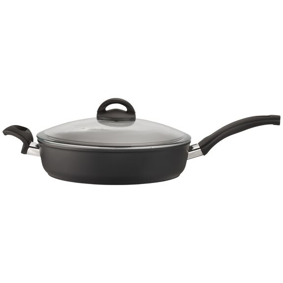 3.8-qt Forged Aluminum Nonstick Saute Pan with Lid, , large