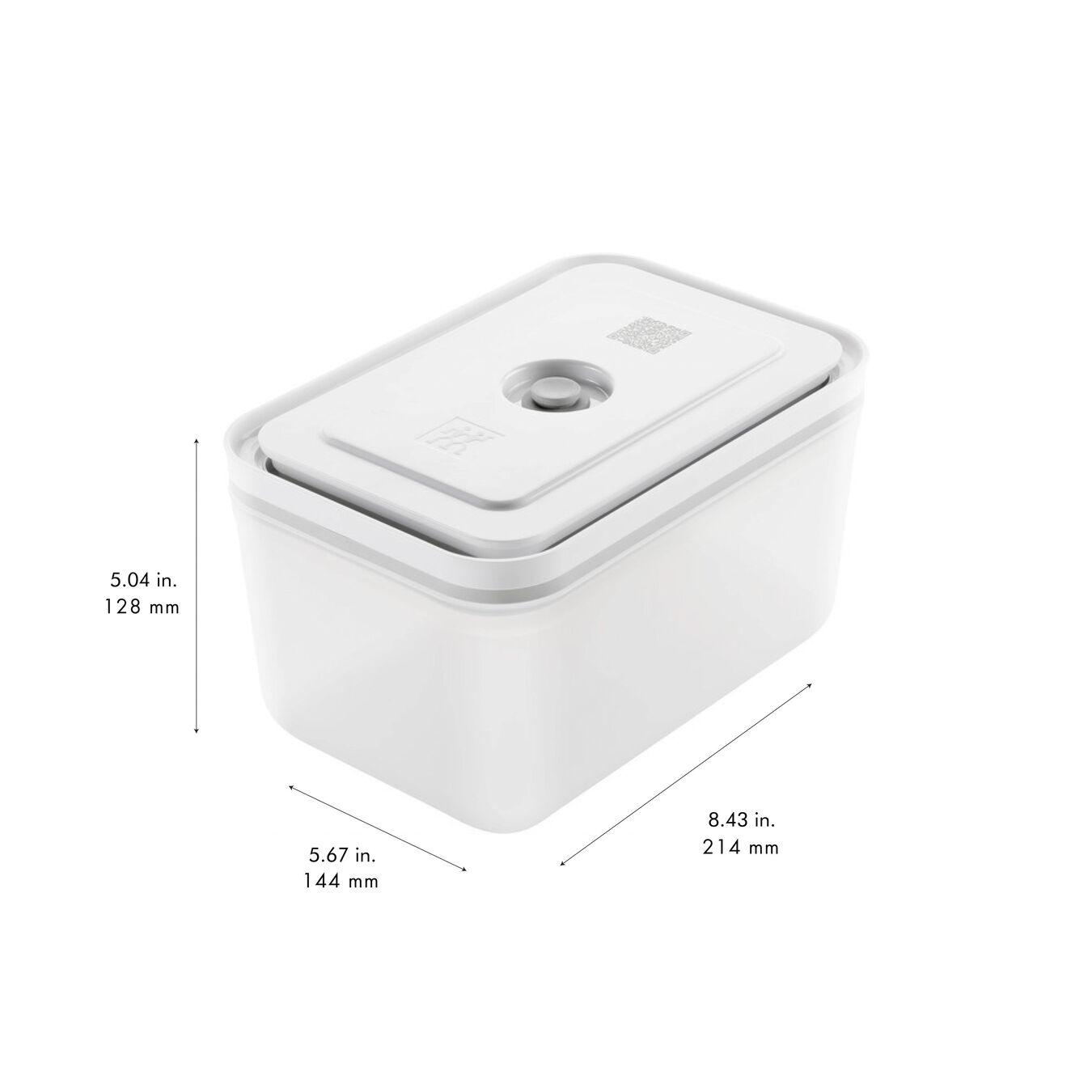 Contenitore sottovuoto, L, plastica, semi transparente-grigio,,large 9