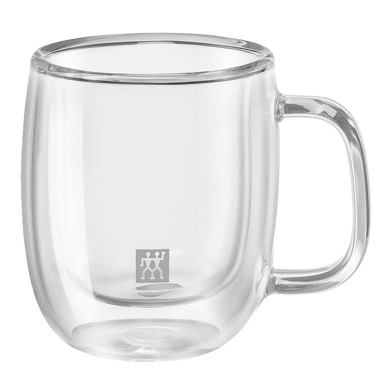 Çift Camlı Kulplu Espresso bardağı seti | Borosilikat Cam | 2-parça,,large 1