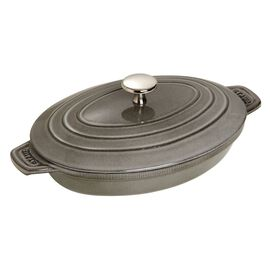Staub Cast Iron, 9-inch Cast iron Oven dish with lid