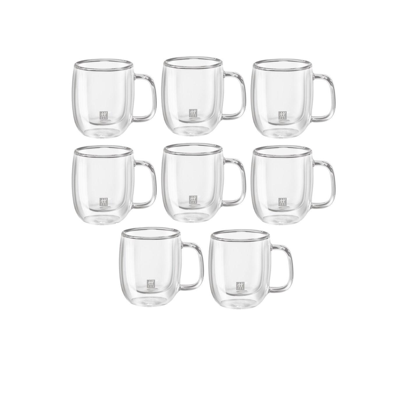 8 Piece Espresso Mug Set - Value Pack,,large 1