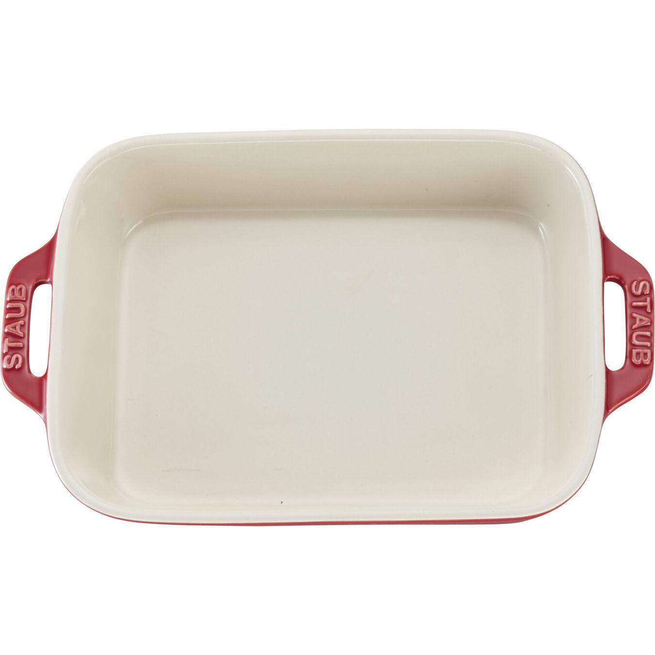 7.5-inch, rectangular, Baking Dish, cherry,,large 2