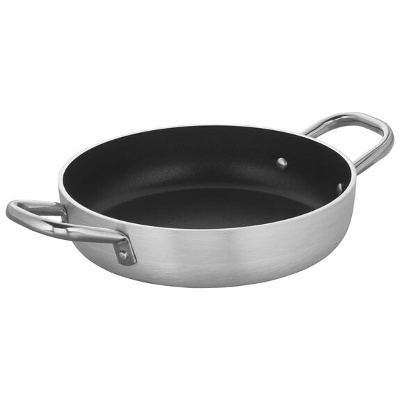9.5-inch Aluminum Nonstick Braiser Without Lid,,large 2