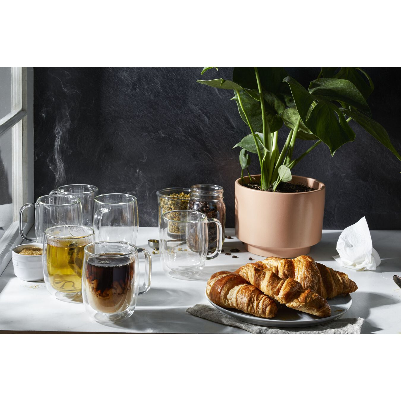 6-pc, Coffee glass set,,large 2