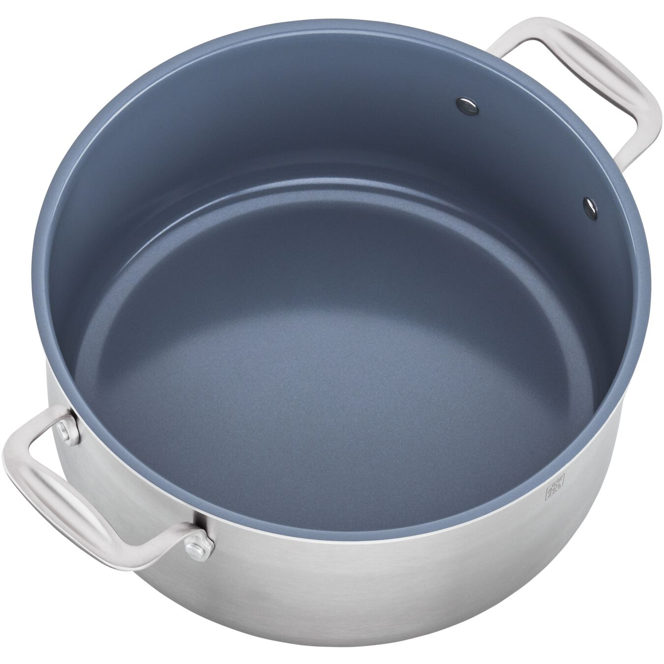 3-ply 8-qt Stainless Steel Ceramic Nonstick Stock Pot,,large 3