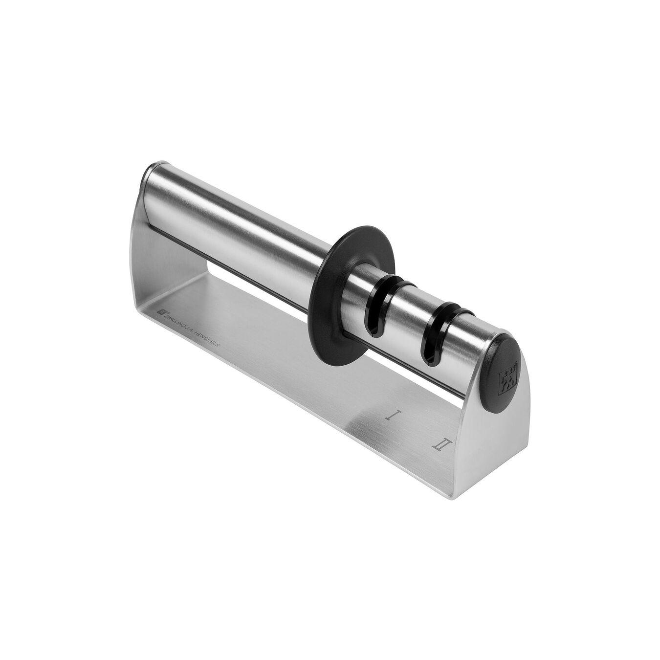 Knife sharpener, 19 cm | silver | stainless steel,,large 4