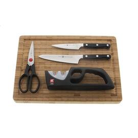 ZWILLING Pro, 5-pc Knife & Cutting Board Set