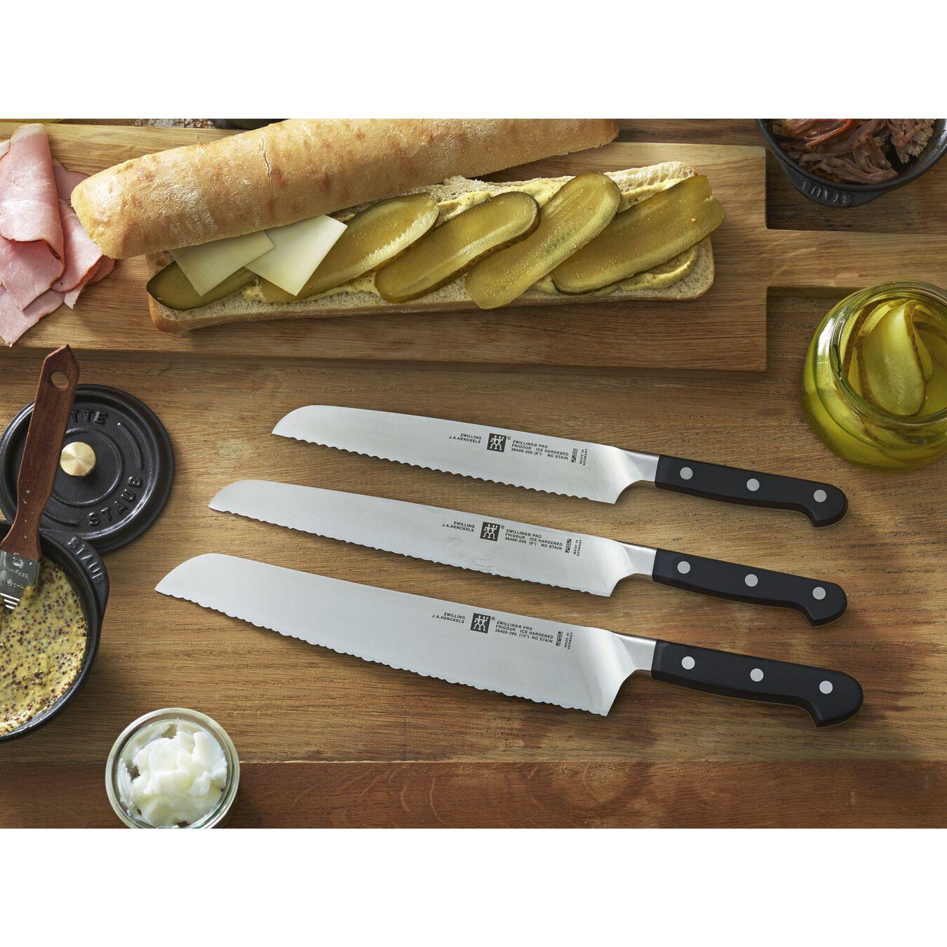 Couteau pâtissier 20 cm, Plastique,,large 2