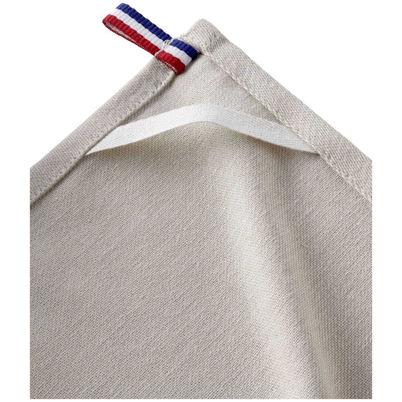 70 cm x 50 cm Cotton Kitchen towel, Grey,,large 3