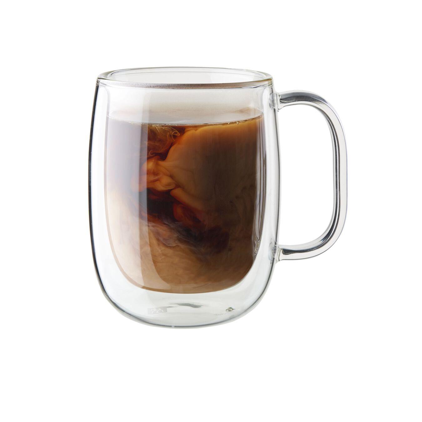 2-pc Double-Wall Glass Coffee Mug Set,,large 1