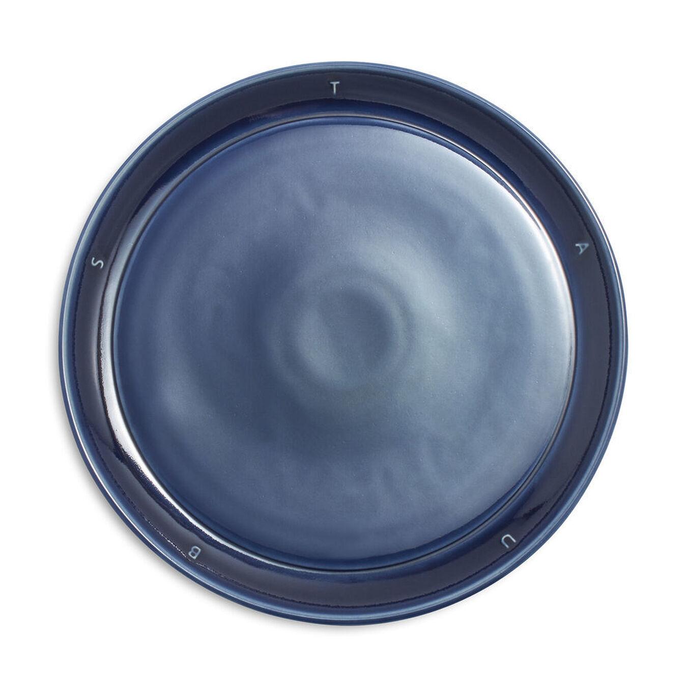 8.5-inch, Plate, dark blue,,large 1