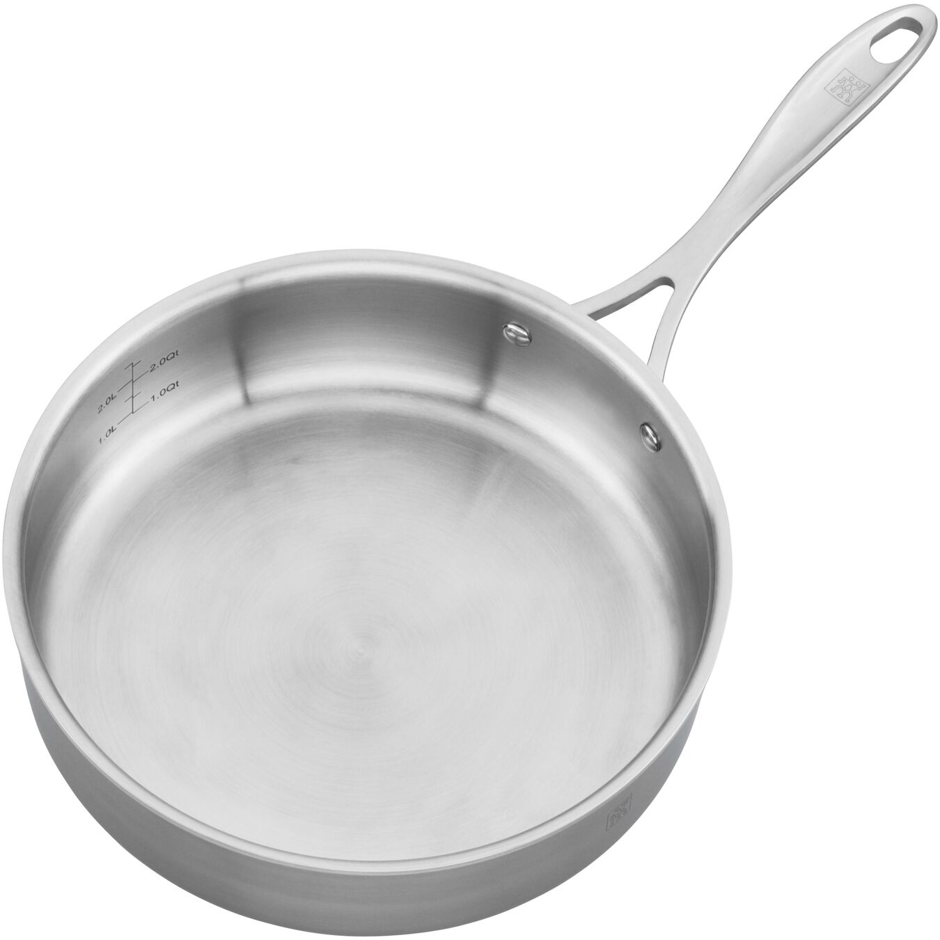 9.5-inch, 18/10 Stainless Steel, Non-stick, Saute pan,,large 3