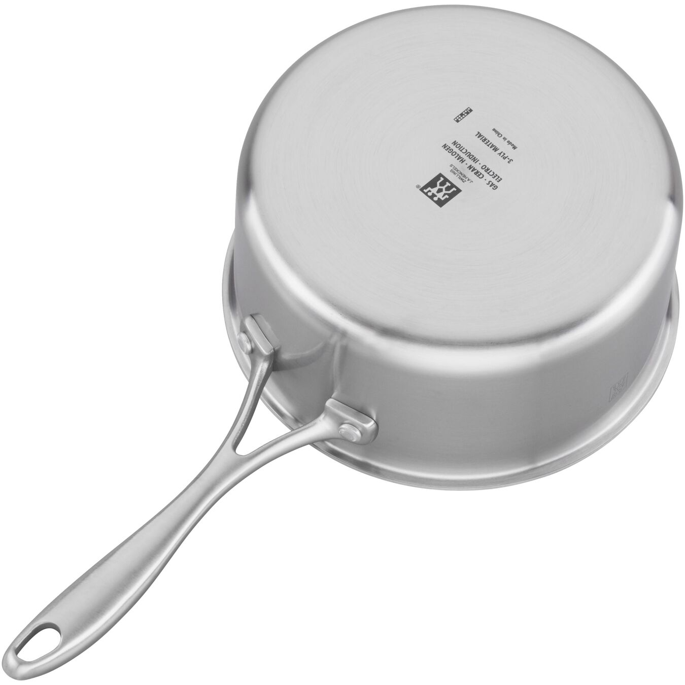 3 qt, 18/10 Stainless Steel, Non-stick, Sauce pan,,large 5
