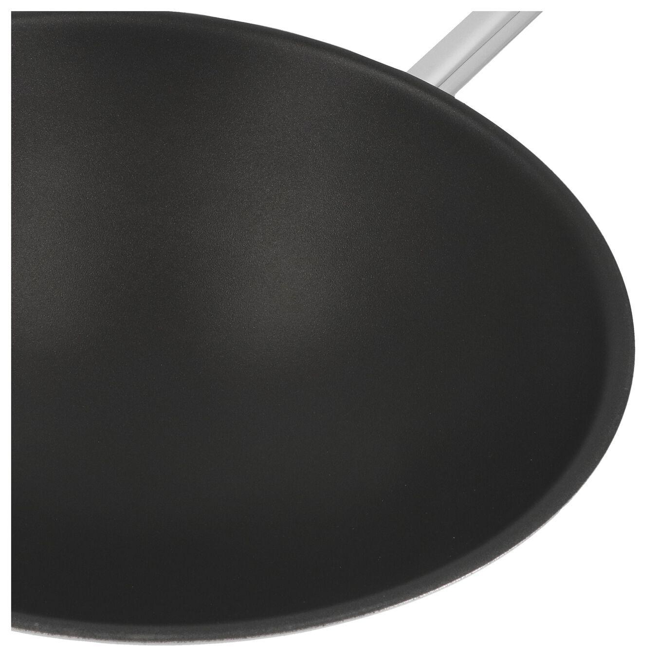 Wok fond rond 36 cm, Inox 18/10,,large 3