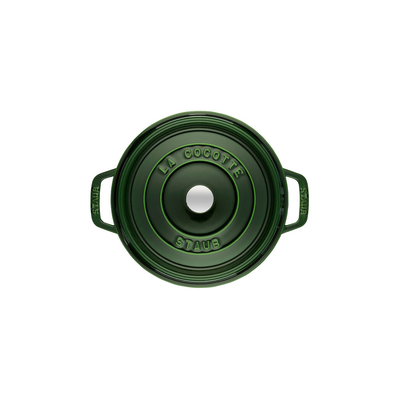 3,75 l Cast iron round Faitout, Basil-Green,,large 2