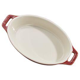 Staub Ceramics,  Ceramic Special shape bakeware, Red