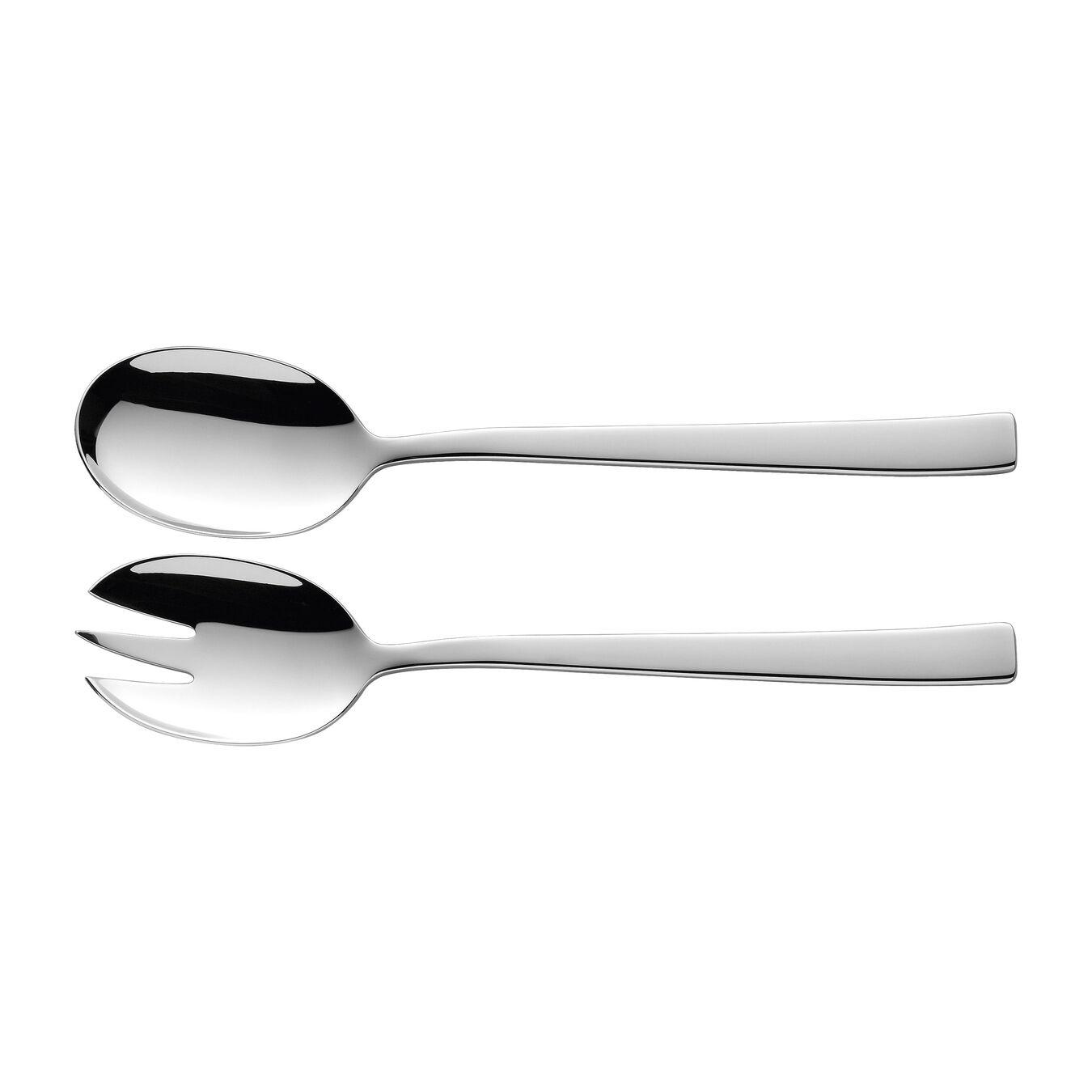 Set di posate da insalata - 2-pz., acciaio,,large 1
