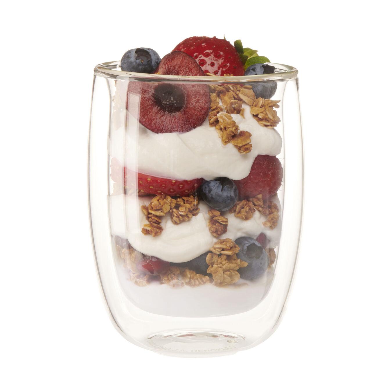 3-pc, borosilicate glass, Appetiser set,,large 1