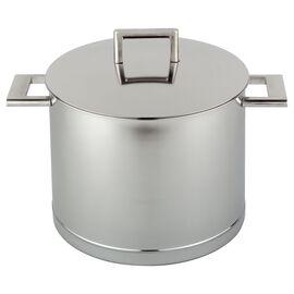 Demeyere John Pawson 7-Ply, 8.5-qt 18/10 Stainless Steel Stock pot