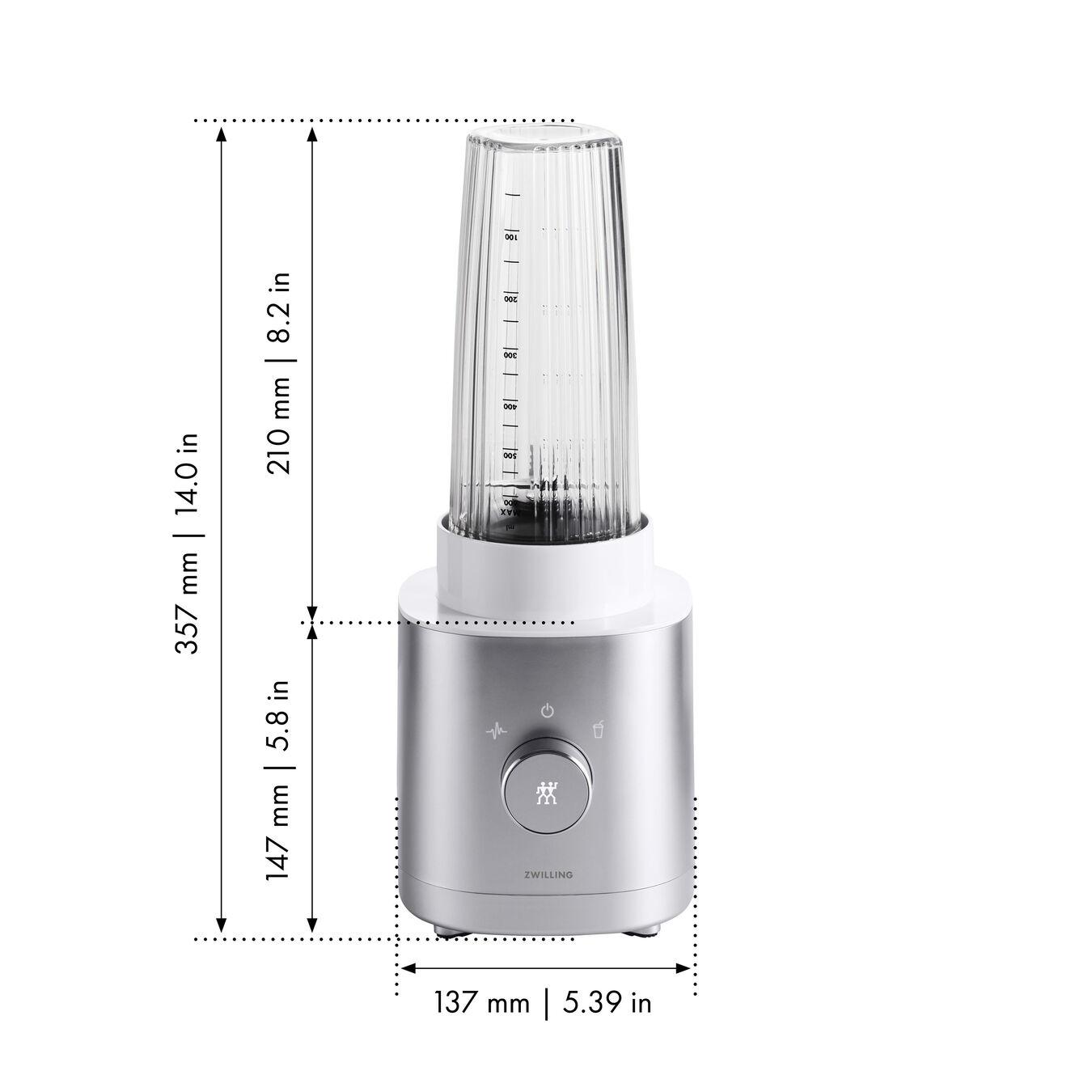 Kişisel Blender | AC Motor | Metalik Gri,,large 9
