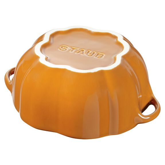 0.5-qt Pumpkin Cocotte, Burnt Orange,,large 6