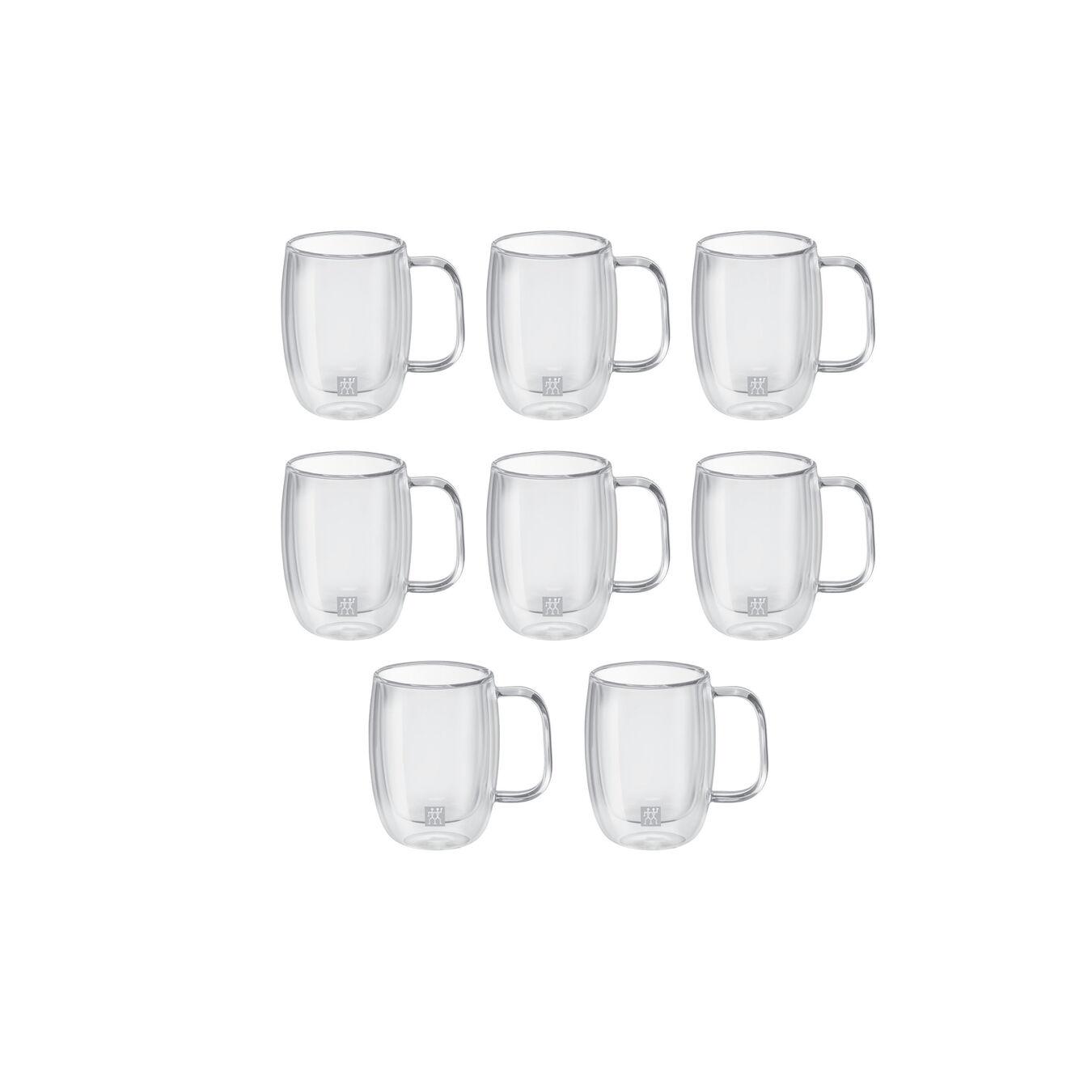 8 Piece Espresso glass set - Buy 6 Get 8,,large 1