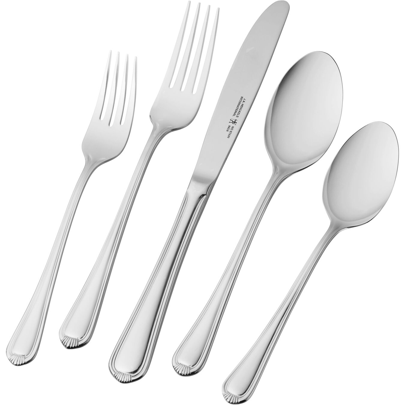 65-pc 18/10 Stainless Steel Flatware Set,,large 1