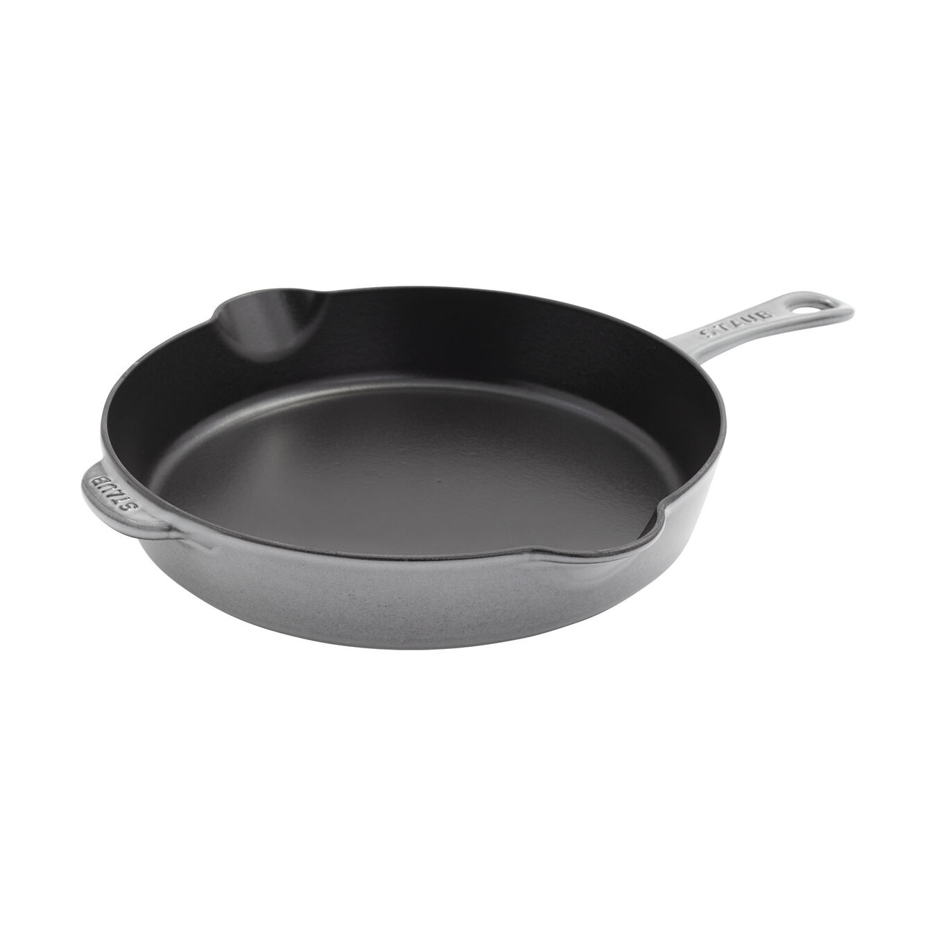 11-inch, Traditional Deep Skillet, graphite grey,,large 1