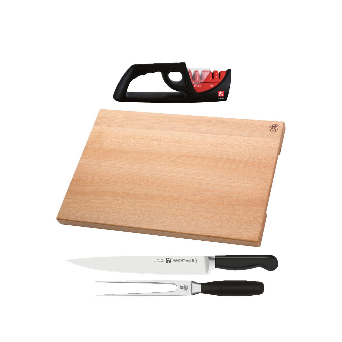 10 Piece Knife block set,,large 3