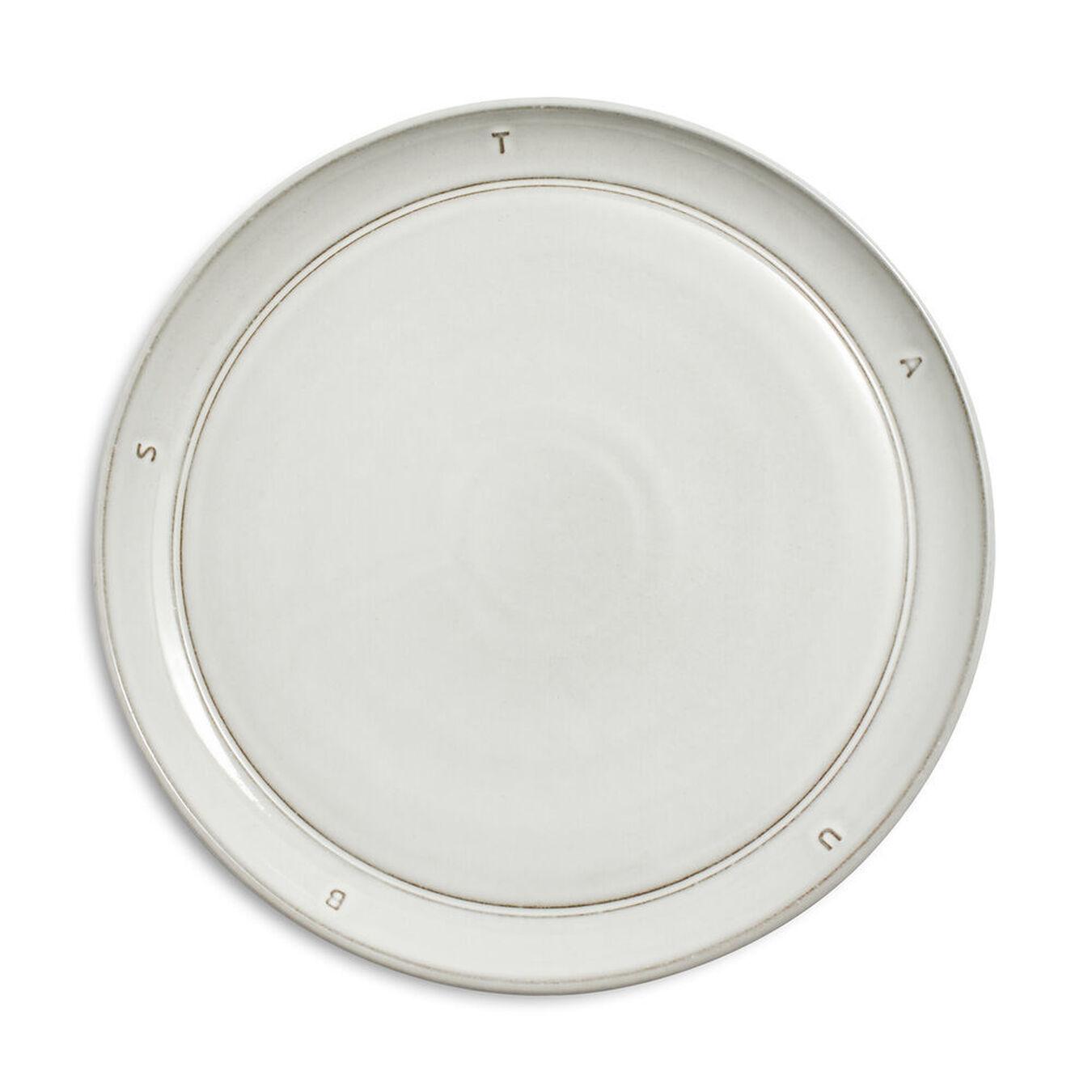 "Ceramic Salad Plate 22cm / 8.6"" - Off White,,large 1"