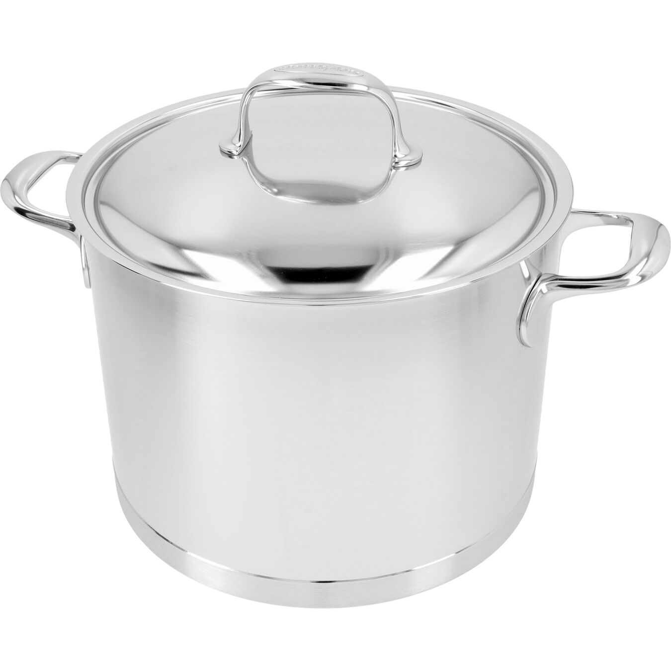 8.5 qt Stock pot with lid, 18/10 Stainless Steel ,,large 6