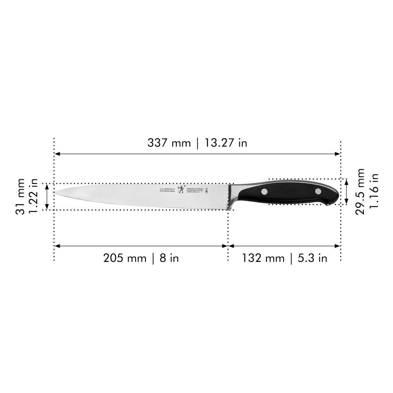 8-inch, Carving knife,,large 2