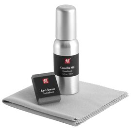 ZWILLING Sharpener, Carbon Steel Use & Care Kit