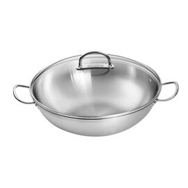 ZWILLING Prime, 36 cm / 14 inch 18/10 Stainless Steel Wok