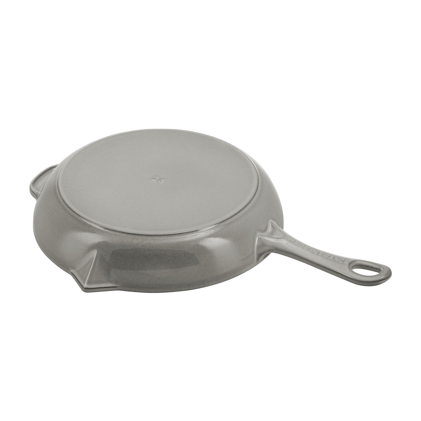 10-inch, Frying pan with pouring spout, graphite grey,,large 3