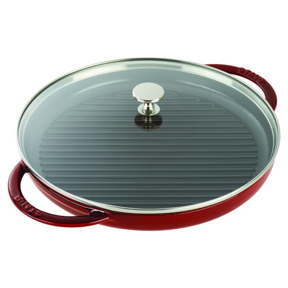 12-inch Round Steam Grill - Grenadine,,large 2