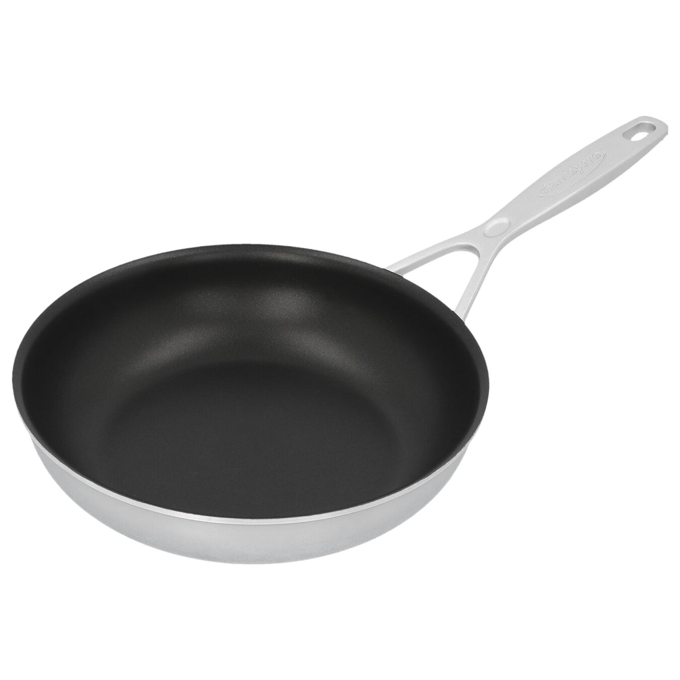 8-inch, 18/10 Stainless Steel, Non-stick, PTFE, Frying pan,,large 4