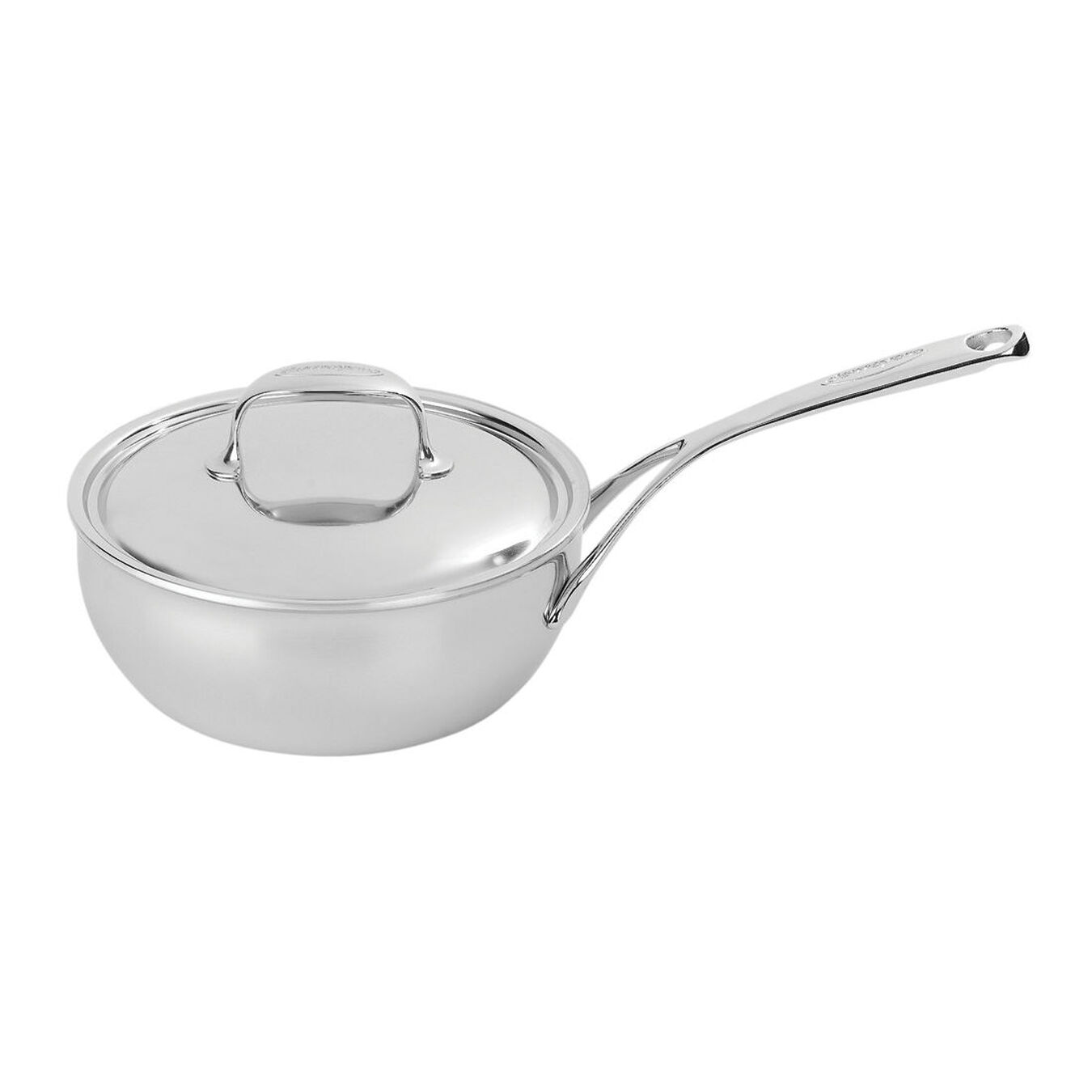 2.75 qt Sauteuse conical, 18/10 Stainless Steel ,,large 1